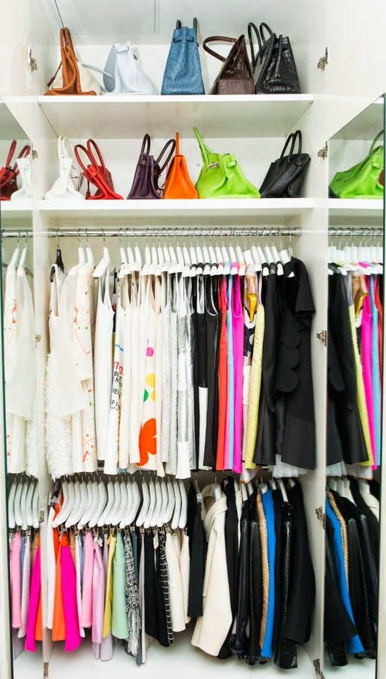 Como Organizar Armarios Como Organizar Closet De Bebe Reciclado  ~ Como Organizar Un Armario De Ropa