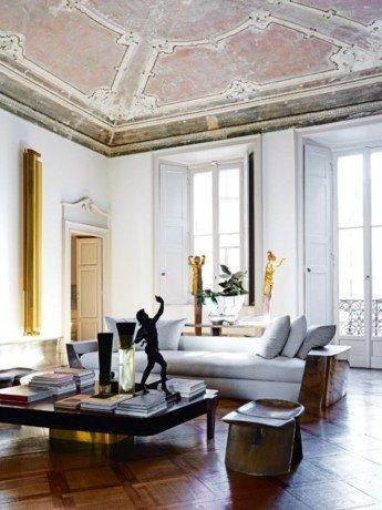Un palazzo milanés donde arte y arquitectura pueden respirar