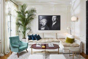 Un apartamento clásico pero moderno