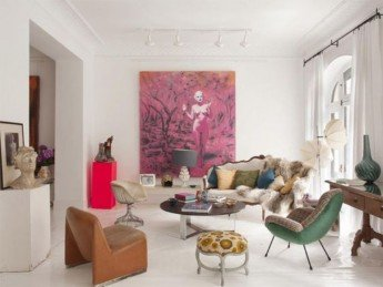 Color, arte y antigüedades... Otro gran proyecto de María Lladó
