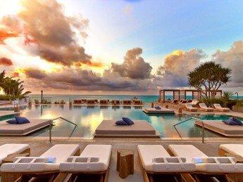 El lujo relajado del 1 Hotel South Beach