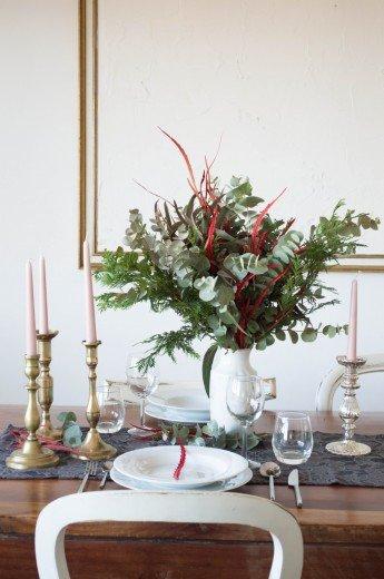 La mesa de Navidad, por Antic&Chic