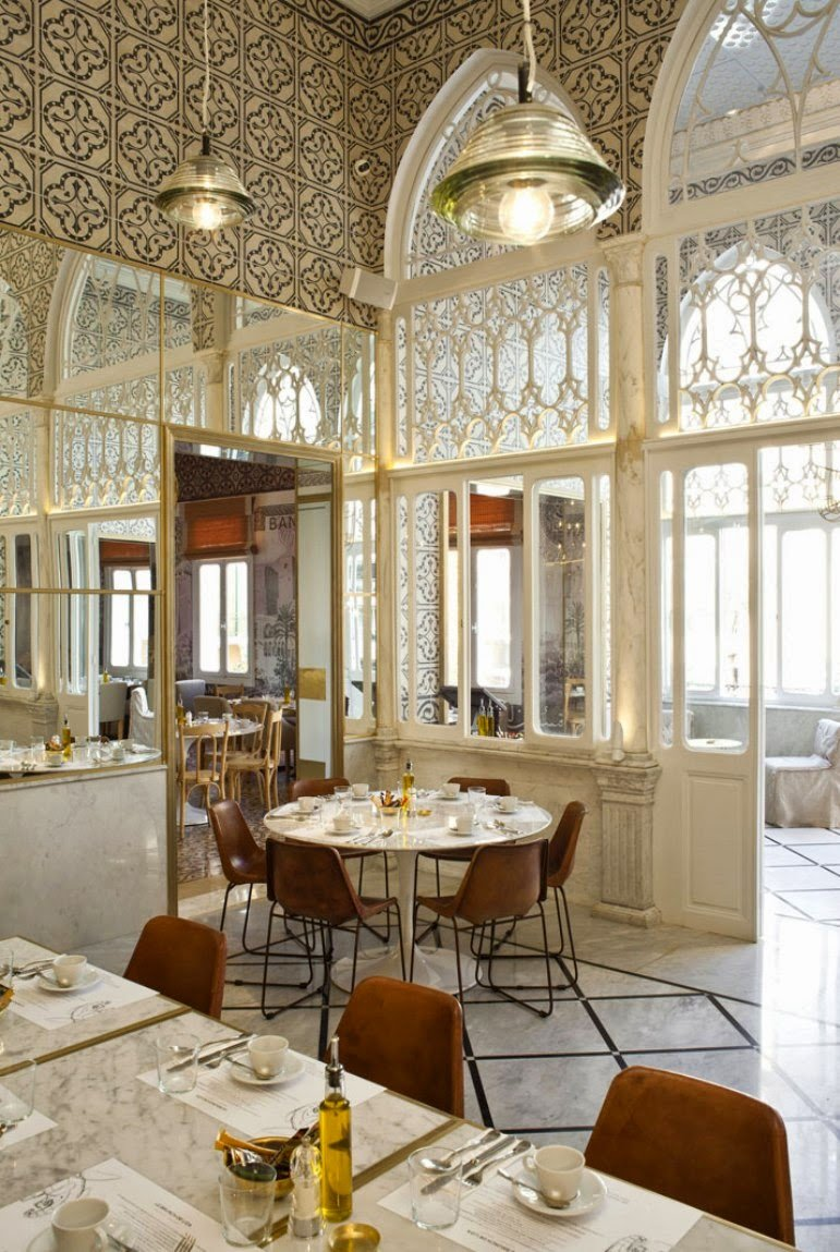 Un restaurante que nos hace soñar con las mil y una noches...