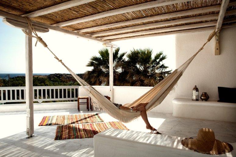 Un hotel para relajarse en Mykonos