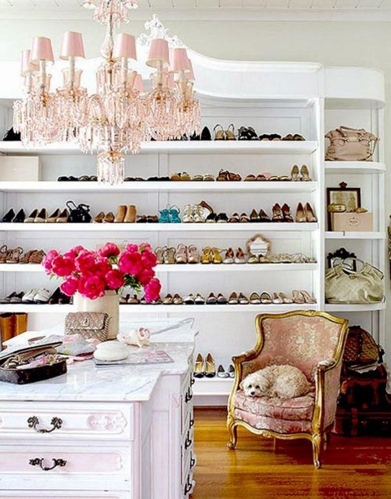 Cómo organizar y decorar tu vestidor