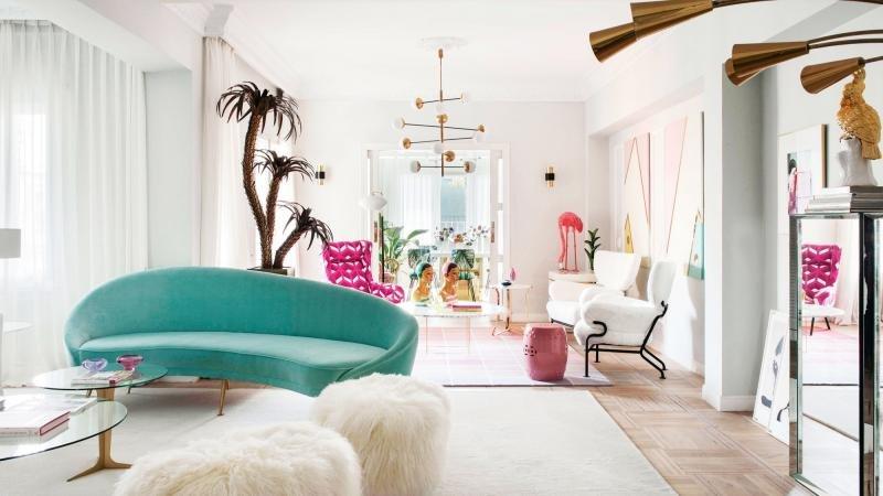 El vibrante y luminoso apartamento de Patricia Bustos