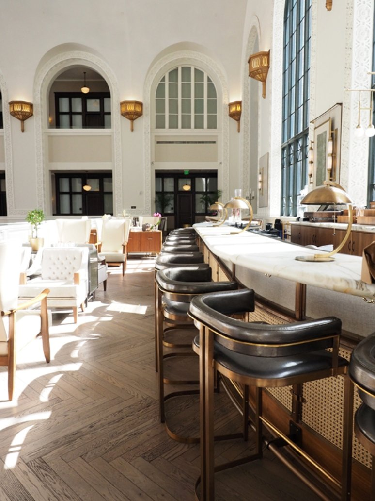 El Cooper Lounge: una propuesta gastronómica en una antigua estación de tren