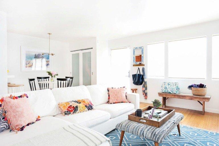 Una casa pequeña, fresca y elegante