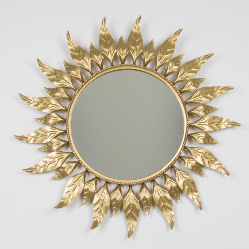 espejo sol redondo vintage espejos objetos y decoraci n