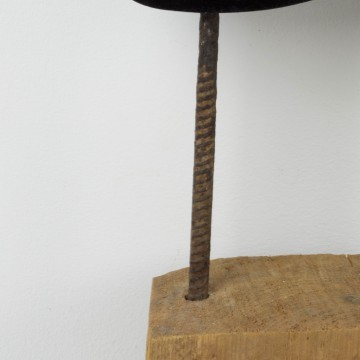 Oscuro fragmento, escultura original de Cèlia Izquierdo