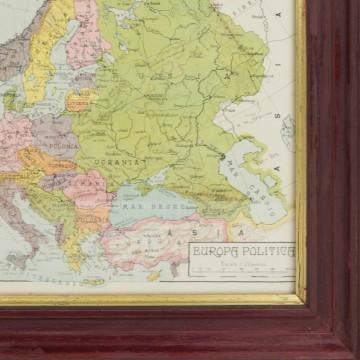 Antiguo mapa de Europa
