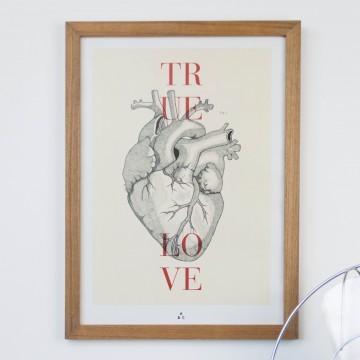 Lámina True Love, by Antic&Chic