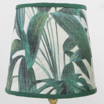 Pareja de lámparas tropicales