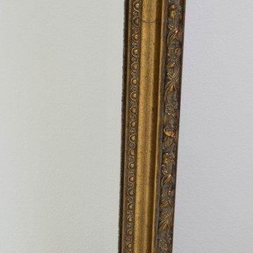 Gran espejo dorado