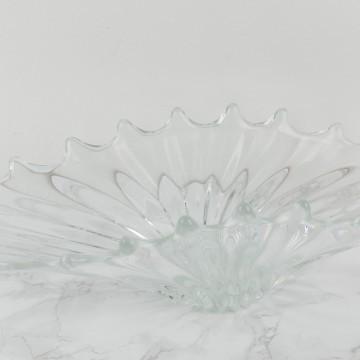 Centro de mesa francés transparente
