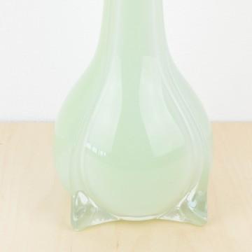 Jarrón de cristal de Murano verde