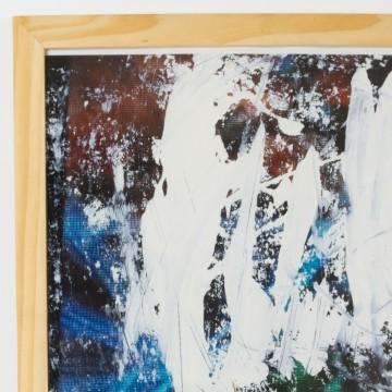 Pintura abstracta, Huellas de otra realidad, 2009