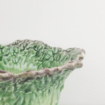 Frutero o fuente de cerámica portuguesa