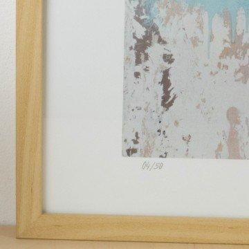 Copia numerada de la obra Volver a latir, 2015