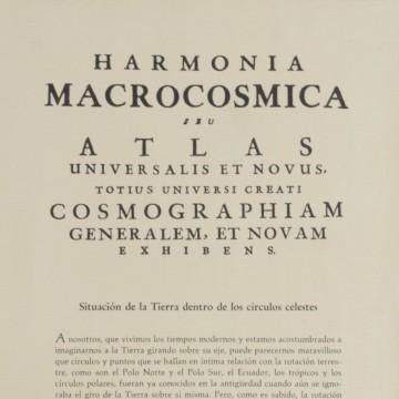Harmonia Macrocosmica Situación de la Tierra