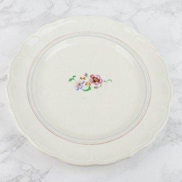 Colección de 7 platos pintados a mano San Claudio