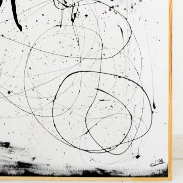 Pintura abstracta, Percibir la ausencia, año 2006