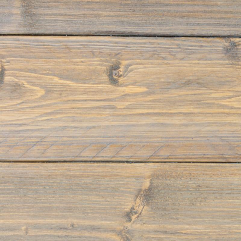 cabecero de madera rstica acabado envejecido gris - Madera Rustica