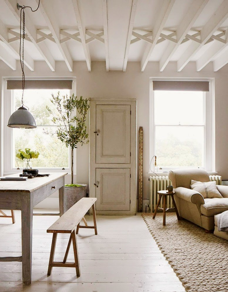La casa country chic de un fot grafo lugares con alma for Casa country chic