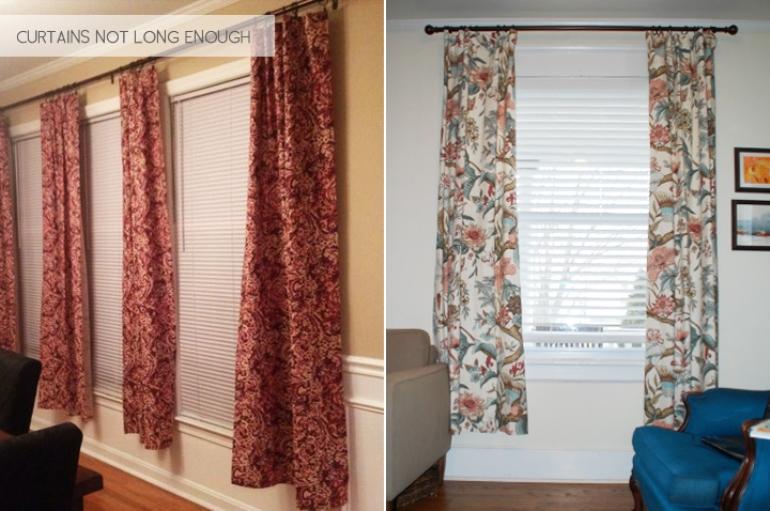 Cómo colocar las cortinas correctamente | Get the Look