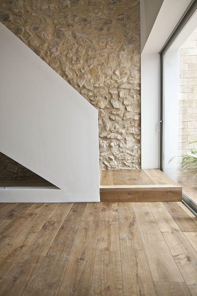 Como Decorar La Pared De Una Escalera Get The Look - Decorar-una-pared