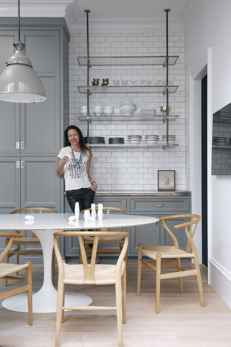 Cómo reutilizar unas puertas de cocina de madera maciza   Get the Look