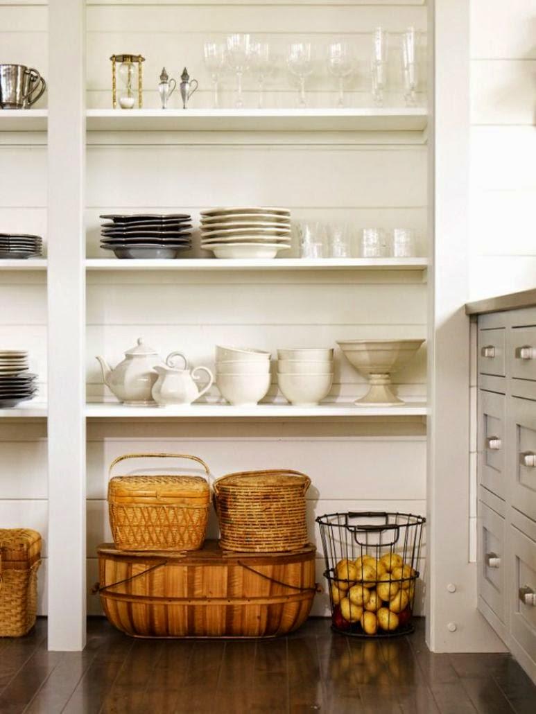 Ideas para decorar una pequeña despensa | Get the Look
