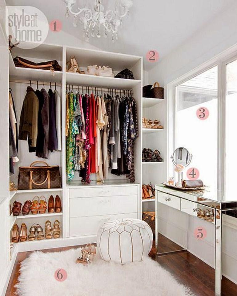 Como Organizar Y Decorar Tu Vestidor Get The Look - Como-organizar-un-vestidor