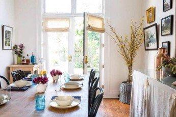 Una casa de alquiler convertida en un hogar familiar