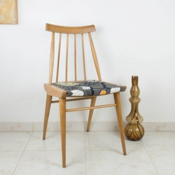 Cómo transformar una silla de estilo escandinavo
