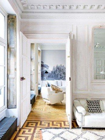 Un elegante apartamento de vacaciones en París