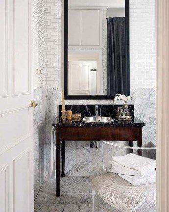 Cómo reutilizar un mueble antiguo como lavabo