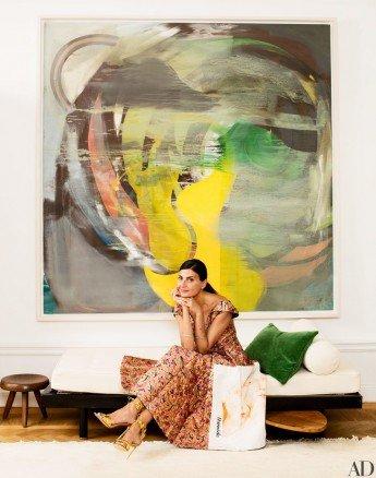 El elegante apartamento de la editora de moda Giovanna Battaglia