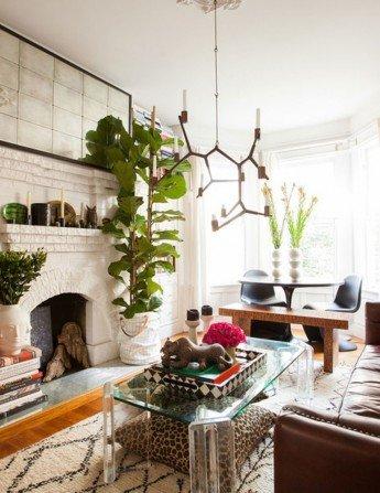 Apartamento lleno de creatividad y eclecticismo