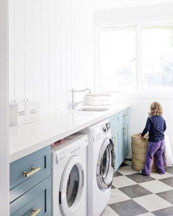 8 ideas para decorar tu lavadero o cuarto de lavado