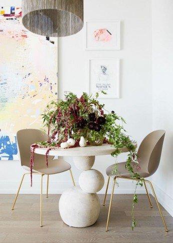 Un apartamento pequeño y femenino