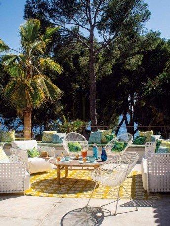 Una casa en Mallorca a todo color