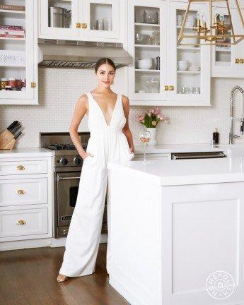 El brillante apartamento estilo Hollywood de Olivia Culpo