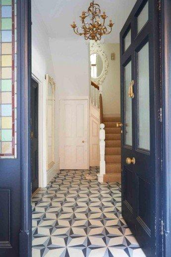 Colores pastel para una casa victoriana