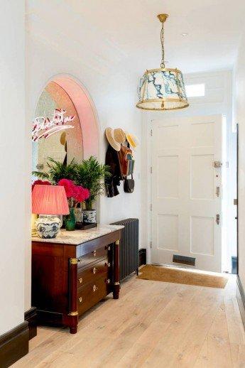 Una casa ecléctica y a la moda