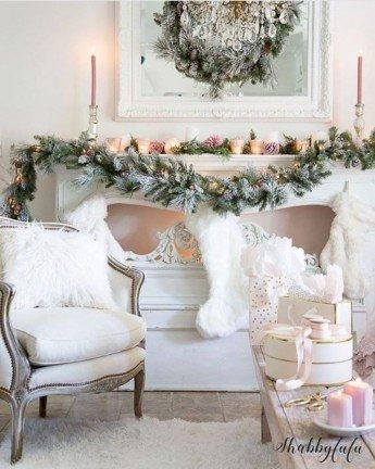 Las 12 mejores ideas para decorar tu chimenea por Navidad