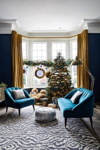 Esta casa ya está lista para Navidad