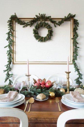 Decorar la mesa para Nochevieja con estilo Chic