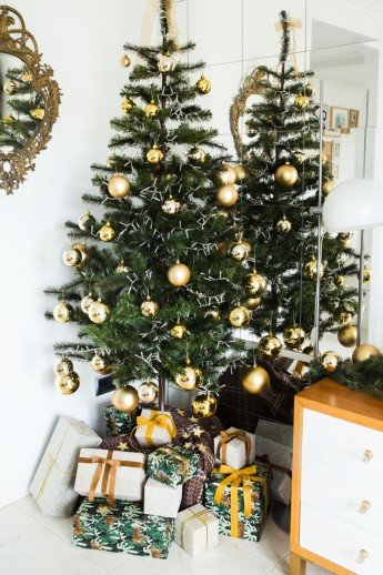 Decoración de Navidad en casa de Antic&Chic (parte I)