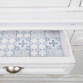 Transformar los muebles de comedor en blanco decapé